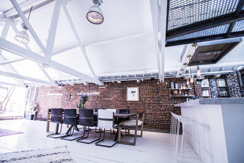 cuisine salle à manger style industriel