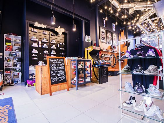 magasin pop-up store
