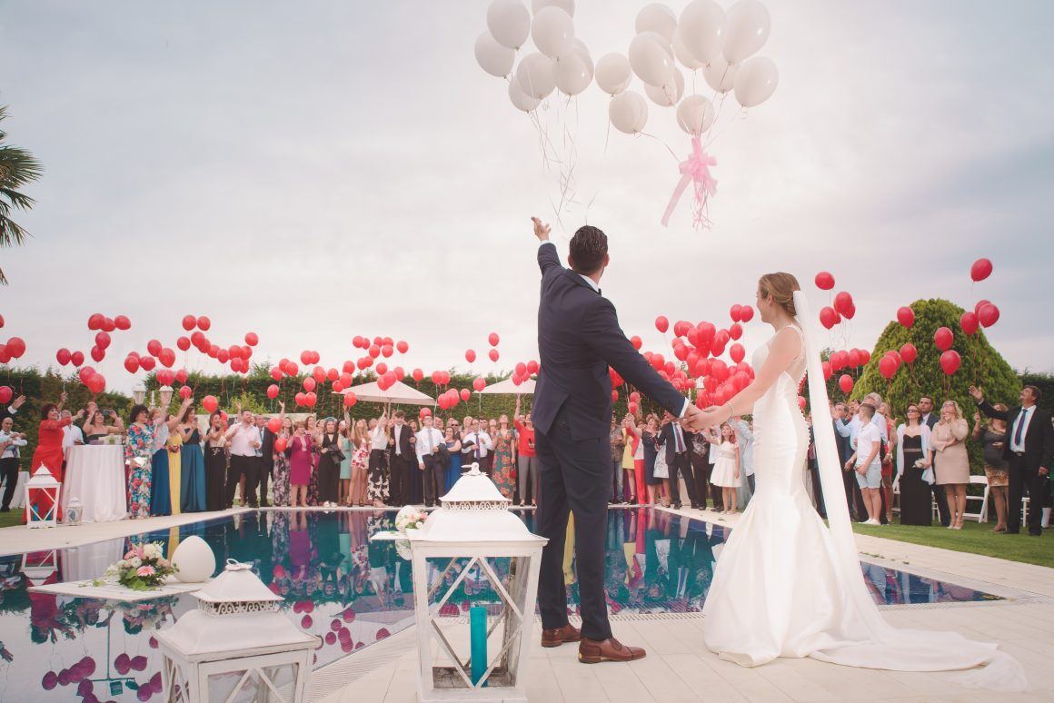 lâché de ballon mariage