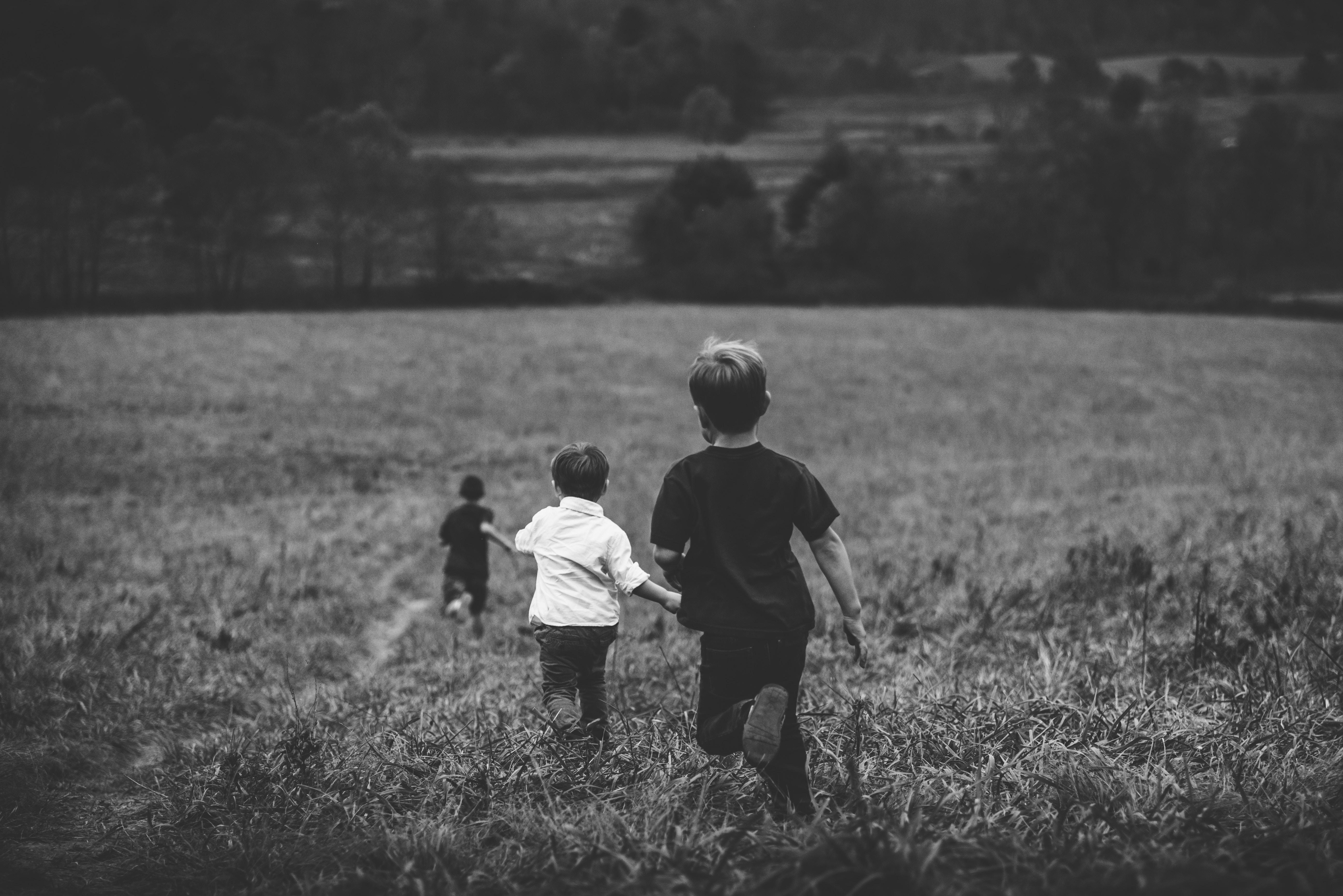 champs ouvert enfant