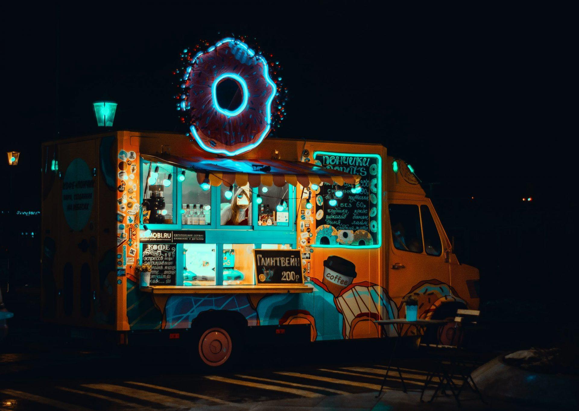 food truck fluo