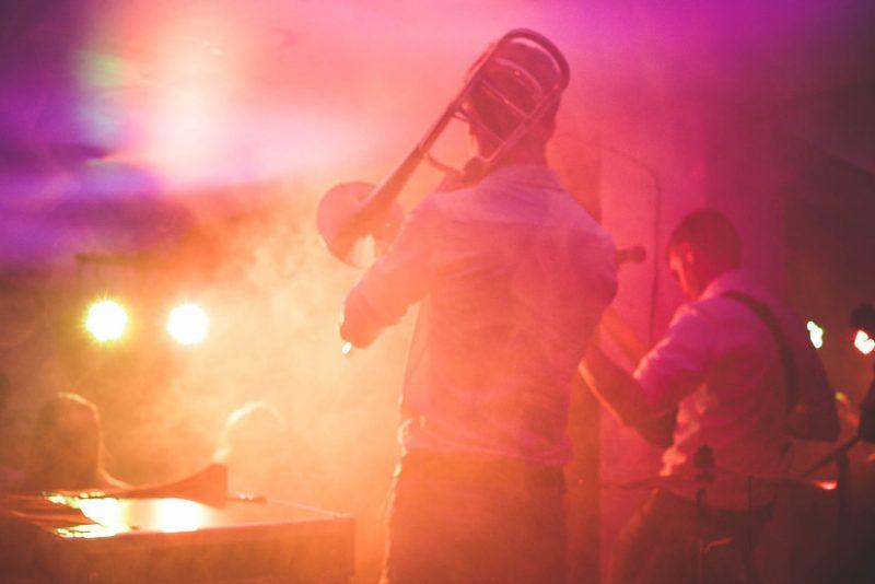 homme trompette concert