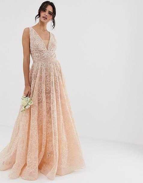 robe mariee couleur rose pâle