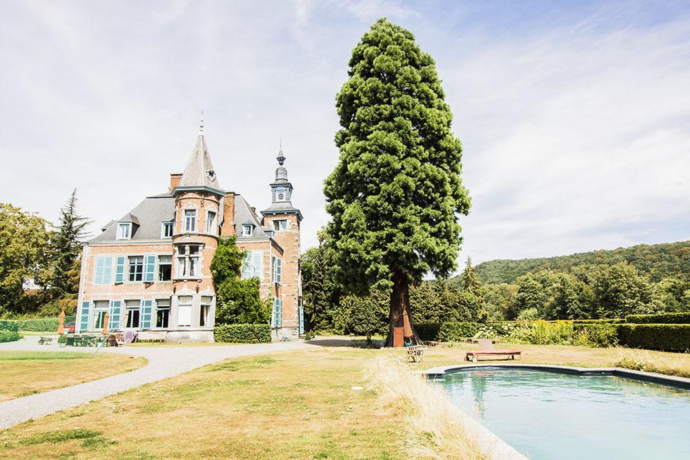 Château jardin garden party