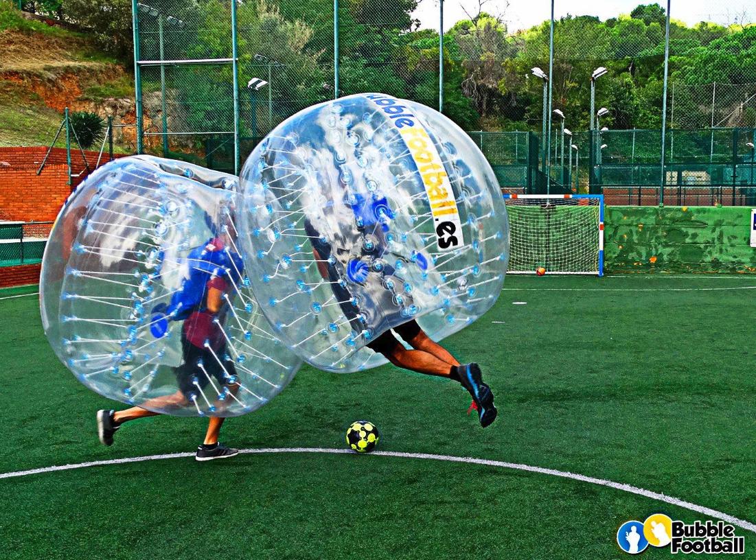 Garden party Bubble football