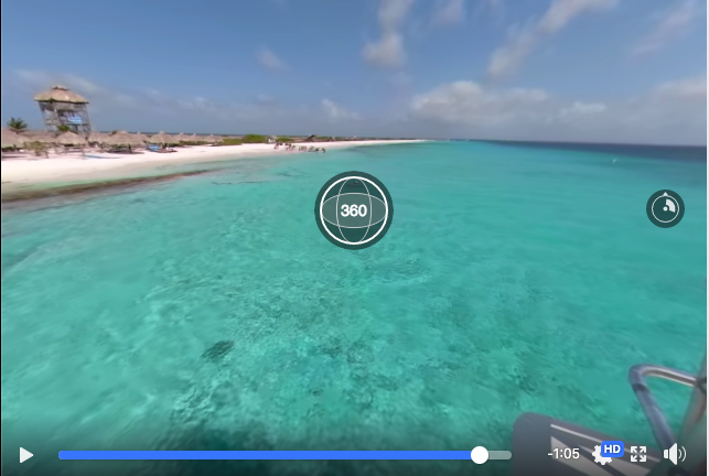 360 degree video sea