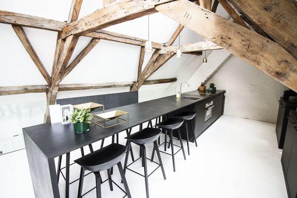 maison onehousestand claudia bois noir marron blanc